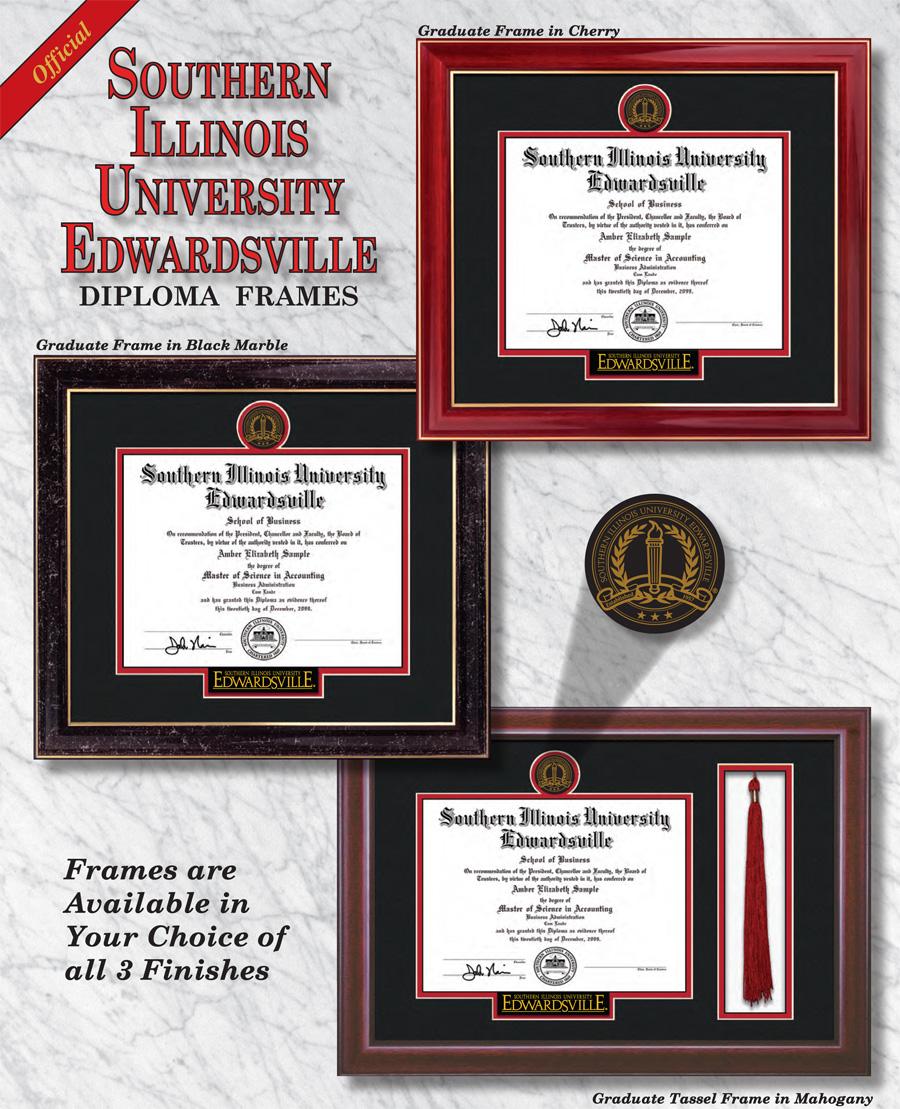 Southern Illinois University Edwardsville Diploma Frames